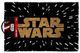Star Wars Logo Door Mat, Brown