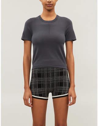 NAGNATA Trash short-sleeved wool-blend T-shirt