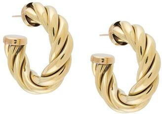 Laura Lombardi Spira hoop earrings