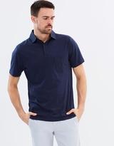 Suffolk Woven Collar Jersey Polo