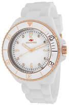 Seapro Sea Bubble Womens White Silicone Strap Watch Family