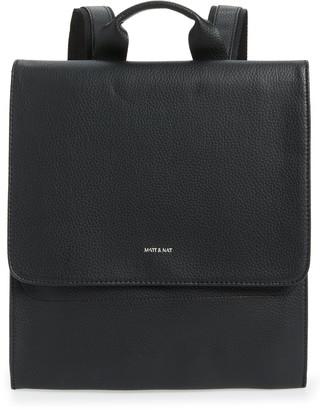 Matt & Nat Purity Mavi Vegan Leather Backpack