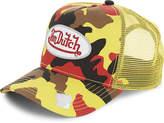 Von Dutch Logo camouflage trucker cap