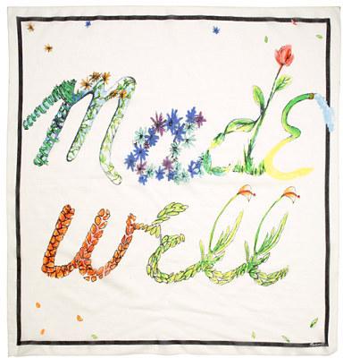 Madewell bloom scarf