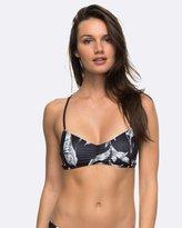 Roxy Womens Strappy Love-Letter Tri And Surfer Reversible Bikini