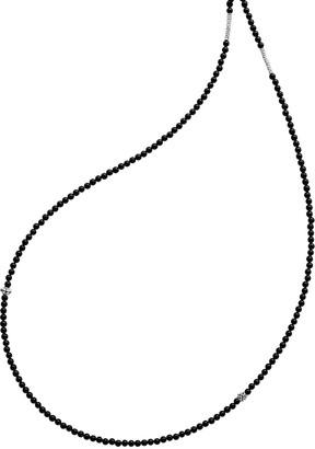 "Lagos Caviar Icon Long Single-Strand Bead Necklace, 34"""