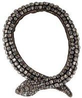 Vera Wang Rhinestone Snake Necklace
