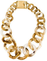 Tory Burch Resin Collar Necklace