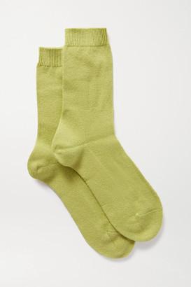 Falke Knitted Socks - Green