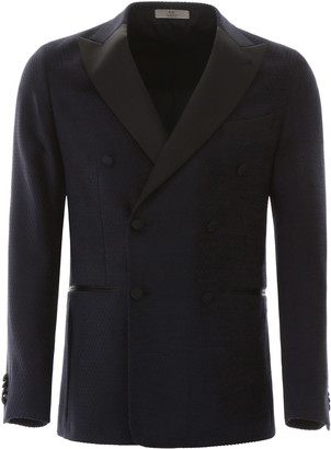 CC Collection Corneliani Double-breasted Jacket