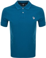 PS By Paul Smith Regular Polo T Shirt Blue