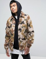 Dickies Coach Jacket in Camo