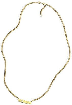 Jennifer Zeuner Jewelry Toni Nameplate Necklace