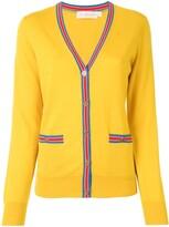 Tory Burch Madeline contrast-trim cardigan