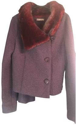 Krizia Purple Wool Jacket for Women