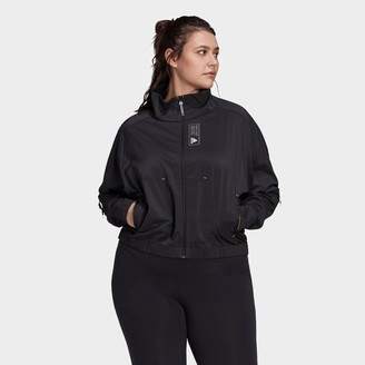 adidas Women's Primeblue Full-Zip Track Jacket (Plus Size)