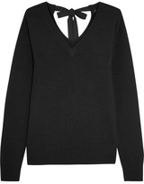 Joseph Tie-back Cashmere Sweater - Black