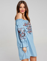 Dotti Isabella Embroid Shoulder Dress