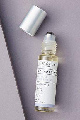 Sagely Naturals Calm & Centered Roll-On By Sagely Naturals in White Size ALL