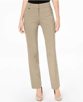 JM Collection Petite And Petite Short Tummy-Control Curvy Fit Pants