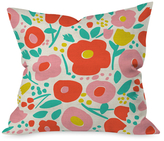 DENY Designs Delightful Floral Throw Pillow