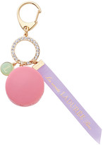 LADUREE Macaron Bag Charm - Rose