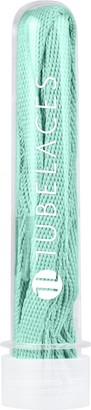 TubeLaces Womens White Flat Shoe Laces (Pack of 5) blue (Ocean)