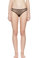 Le Petit Trou Black Vivienne Bikini Briefs