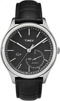 Timex IQ+ Move Black Analog Smartwatch Activity Tracker-TW2P93200F5