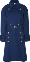 Alexis Mabille Belted Trench Coat