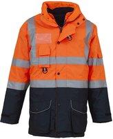 Yoko High visibility multi-functional 7-in-1 jacket (HVP711)(, L)