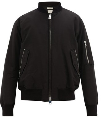 Bottega Veneta Padded Bomber Jacket - Mens - Black