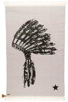 VARANASSI Coton Gypsy rug - Native Indian headdress