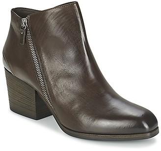 VIC ASSINOU women's Low Boots in Brown