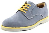 Florsheim Kearny Jr Youth Round Toe Suede Gray Loafer.