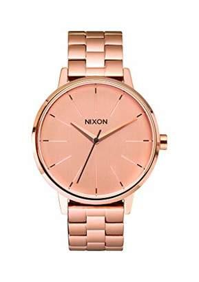 Nixon Kensington A099897-00. Rose Gold Women's Watch (37mm Rose Gold Watch Face/ 16mm Rose Gold Steel Band)
