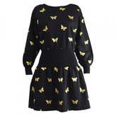 Sonia Rykiel Black Cotton Dress for Women Vintage