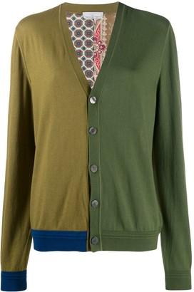 Pierre Louis Mascia Cardialo colour-block cardigan