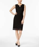 JM Collection Petite Lace Sheath Dress, Created for Macy's