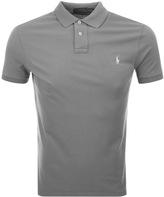 Ralph Lauren Weathered Polo T Shirt Grey