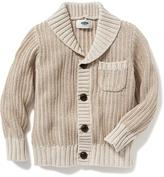 Old Navy Shawl-Collar Sweater-Knit Cardigan for Toddler