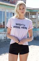 La Hearts Roll Cuff T-Shirt
