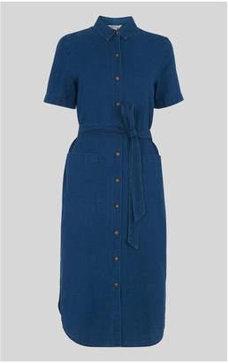 Whistles Montana Linen Mix Dress