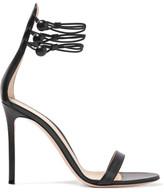 Gianvito Rossi Leather Sandals - Black