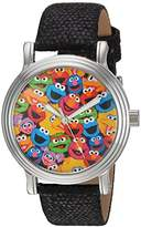 EWatchFactory Women's 'Sesame Street' Quartz Metal Casual Watch