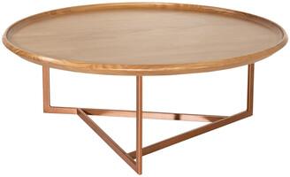 Manhattan Comfort Knickerbocker Round Coffee Table