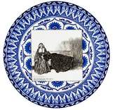 Royal Doulton Antique Gibson Girl Plate