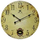 """Infinity Instruments Cottage Grove 24"""" Wall Clock Tan"""