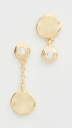 Gorjana Chloe Shimmer Mismatched Earrings