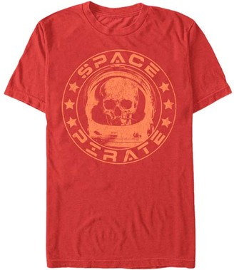 Chin Up Apparel Men's Tee Shirts RED - Red 'Space Pirate' Tee - Men